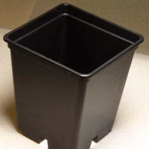 Black Square Pot – 7x7x8cm
